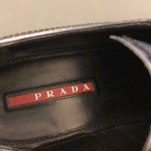Prada Shoes - Authentic Prada black leather oxford sz 39.5 65130